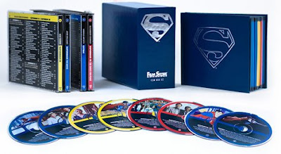 You will believe an eight-CD Superman film score box set can look fly.