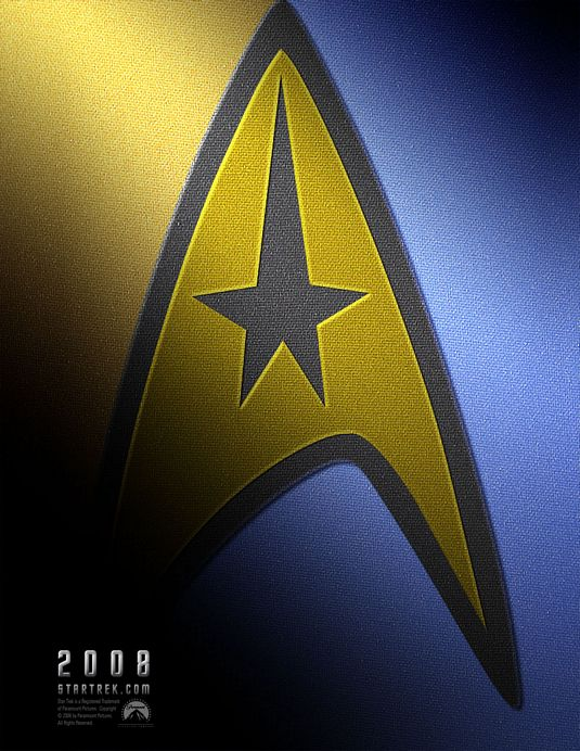 The advance one-sheet that gave Trekkies a nerdgasm in 2007.
