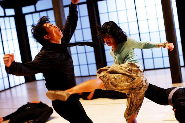 This move was copped from Tony Jaa...