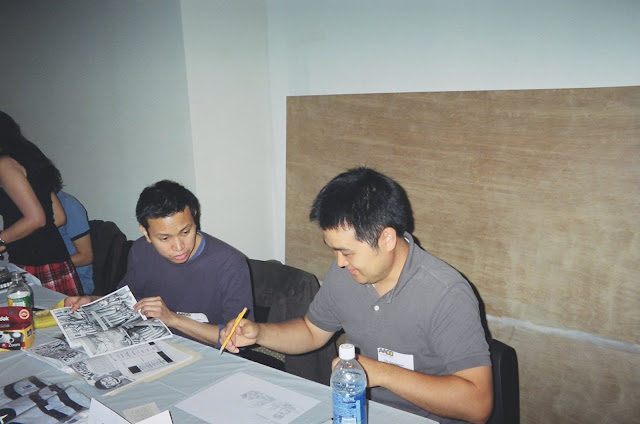 Jimmy J. Aquino and Tak Toyoshima. Photo courtesy of JJA.