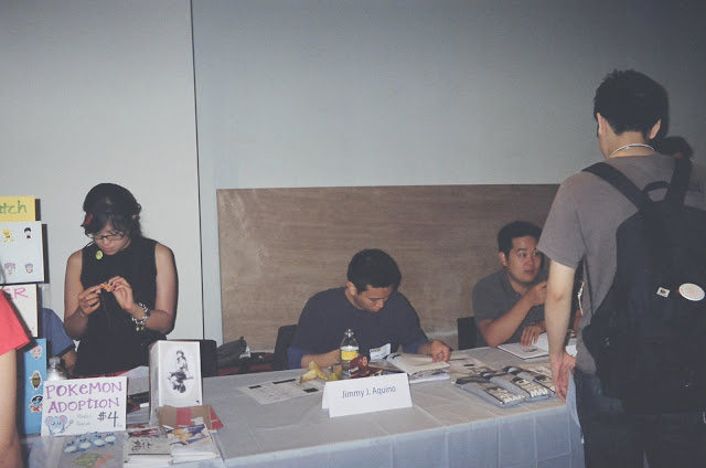 Sarah Sapang, Jimmy J. Aquino and Tak Toyoshima. Photo courtesy of JJA.