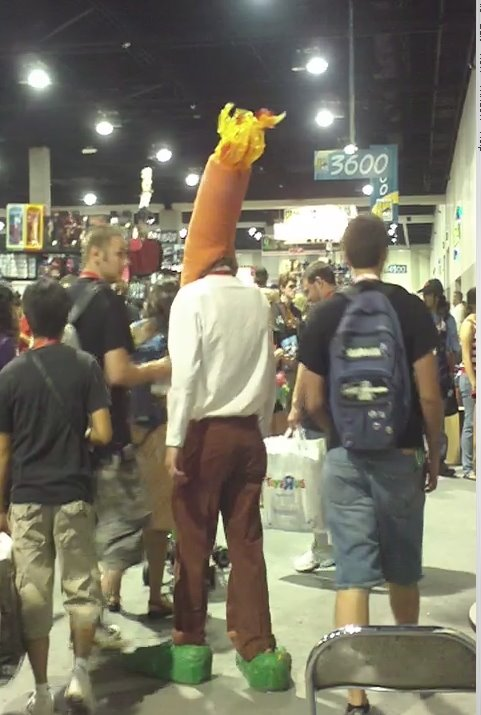 Flaming Carrot. Photo by Jimmy J. Aquino.