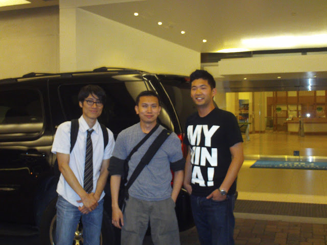 Derek Kirk Kim, Jimmy J. Aquino and Phil Yu. Photo courtesy of JJA.