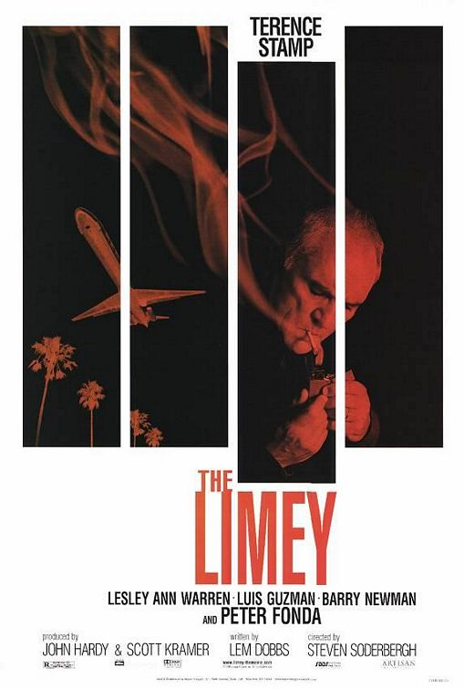 The Limey's cool-looking poster by Pulse Advertising