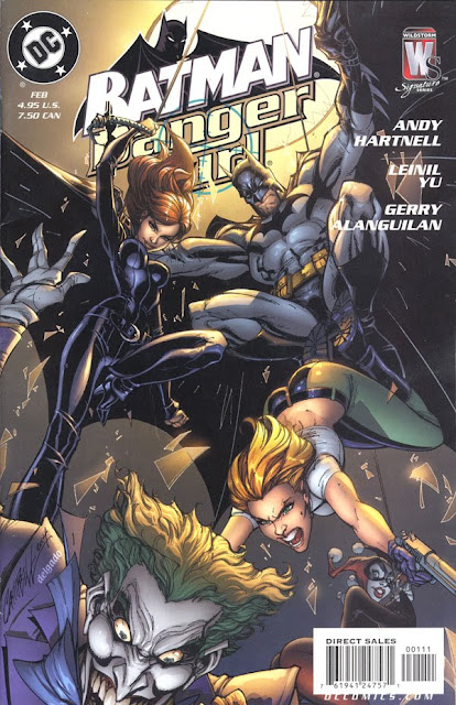 Batman/Danger Girl cover by J. Scott Campbell and Edgar Delgado
