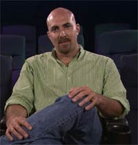 Film critic and large-headed bald man Robert Wilonsky