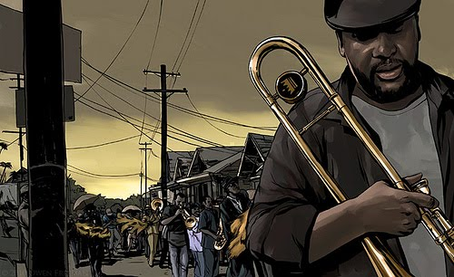 Treme by Owen Freeman for the Washington Post