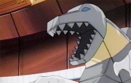 Like Diddy, Grimlock can't seem to keep his mouth closed.