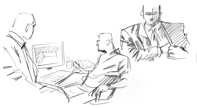 Sketchbook: THE WIRE
