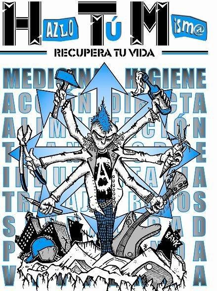 HAZLO TU MISMO RECUPERA TU VIDA F.A.P .(federacion anarko punk)