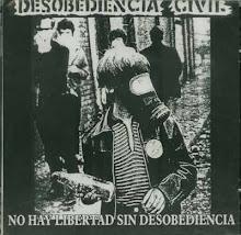 DESOBEDIENCIA CIVIL no hay libertad sin desobediencia