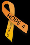 Orange is the color for CRPS/RSD