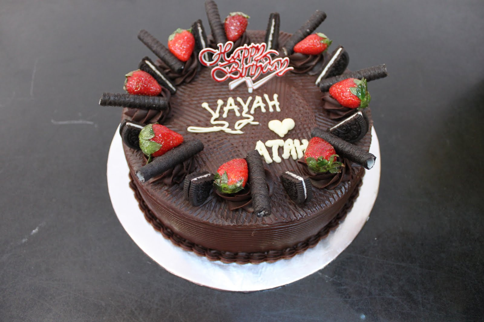rahas oven Birthday cake Moist Chocolate Cake