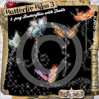 Butterfly Bliss Tagger and Full Size (Leaonna) Folder