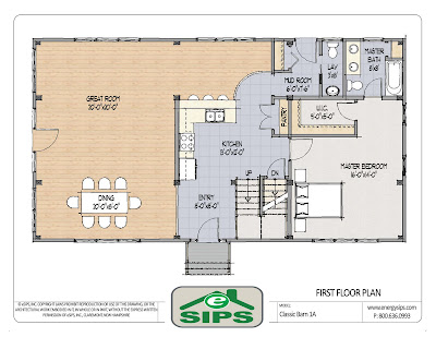 Free House Plans from FreeGreen and R-Control SIPs