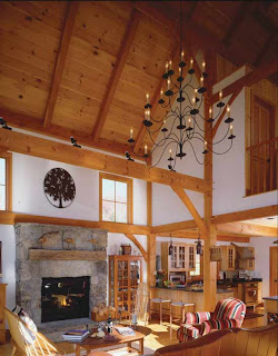 barn home great room