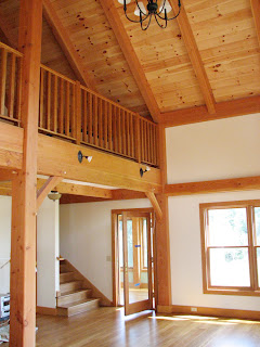 timber frame great room ny