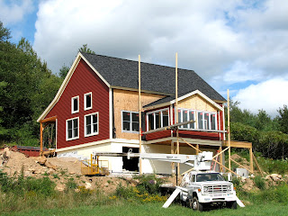 new york timber frame home