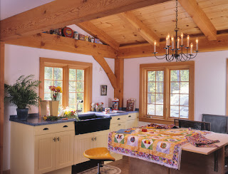 timber frame craft room