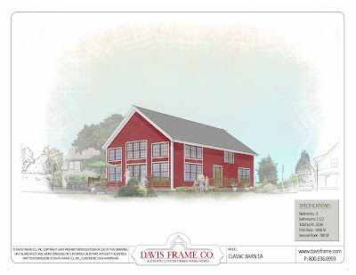 barn home plan