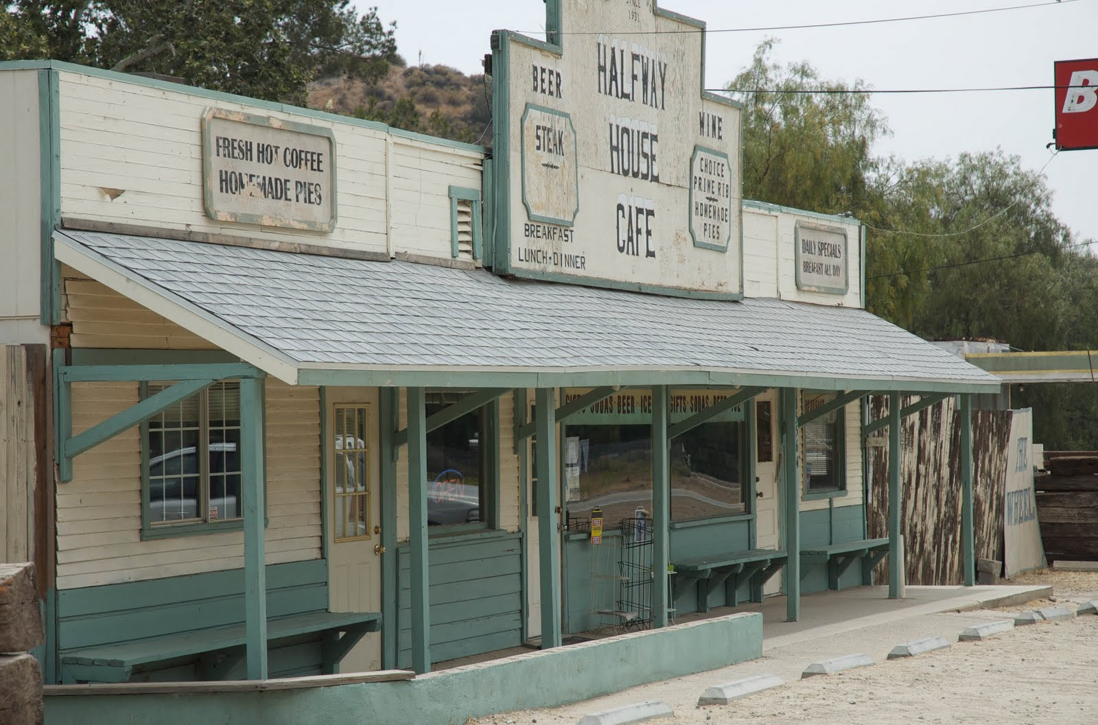 Halfway House Cafe In Movies And Tv