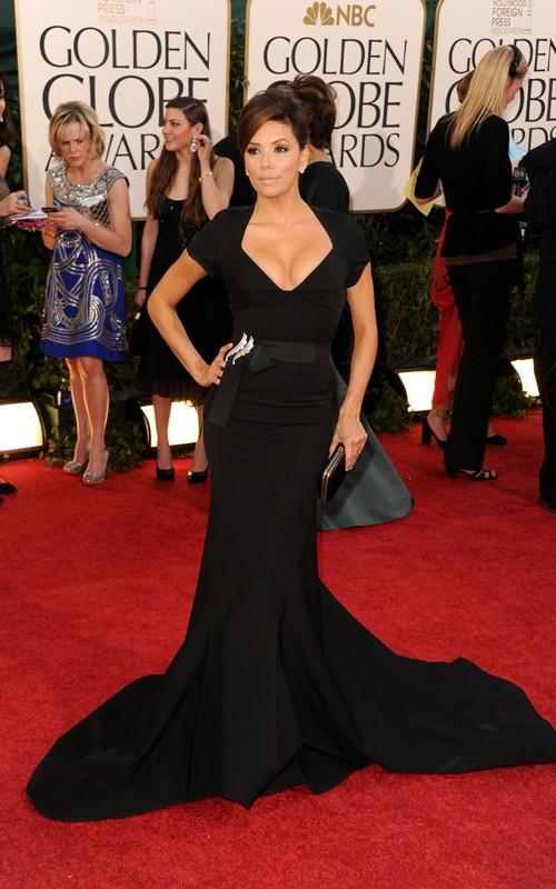 eva longoria dresses 2011. Eva Longoria Golden Globes Red