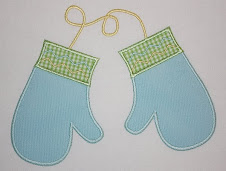 Mittens Applique