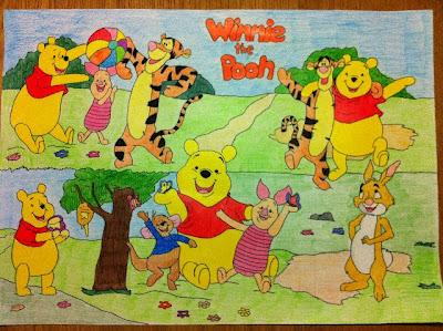 Bambini golosi winnie the pooh for Winnie pooh ka che