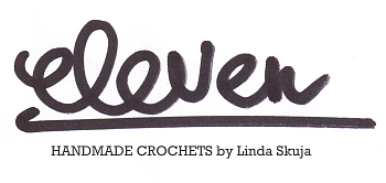 Eleven handmade crochets by Linda Skuja - blog