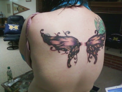 Butterfly Wings Tattoo Butterfly wings tattoos are usually not what the