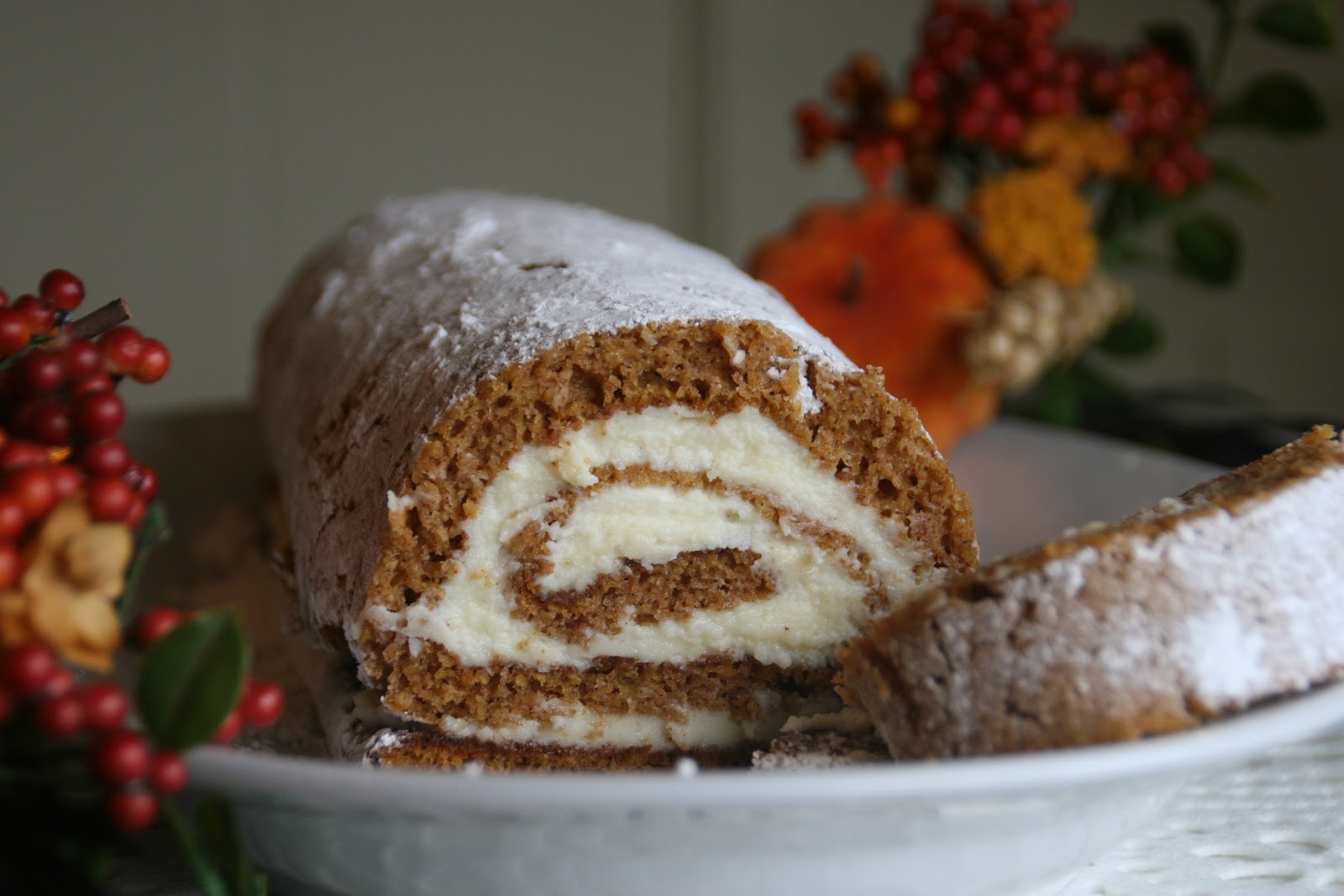 Cooking With Chopin Living With Elmo Pumpkin Log With