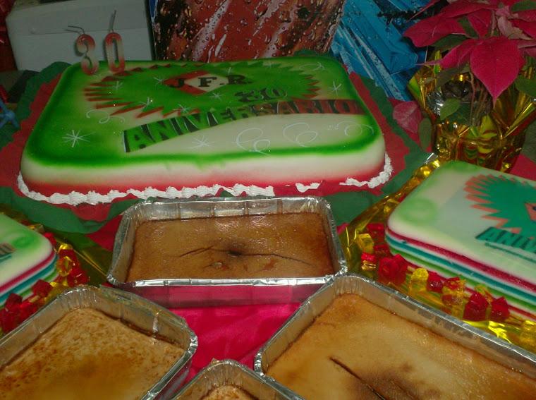 La torta y los postres