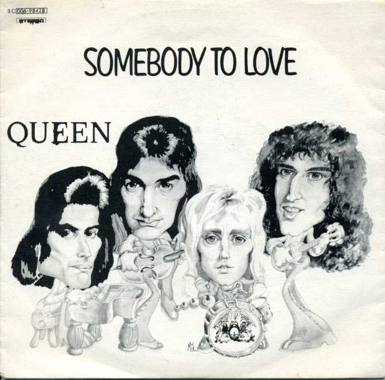Citaten Love Queen : Partitura para piano del tema somebody to love de queen