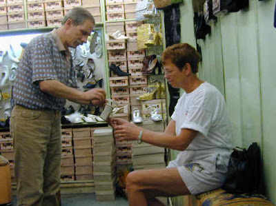 Shoe shopping in Istanbul at the Grand Bazaar