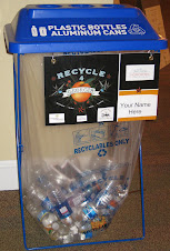 Special Away From Home Event Recycle Container