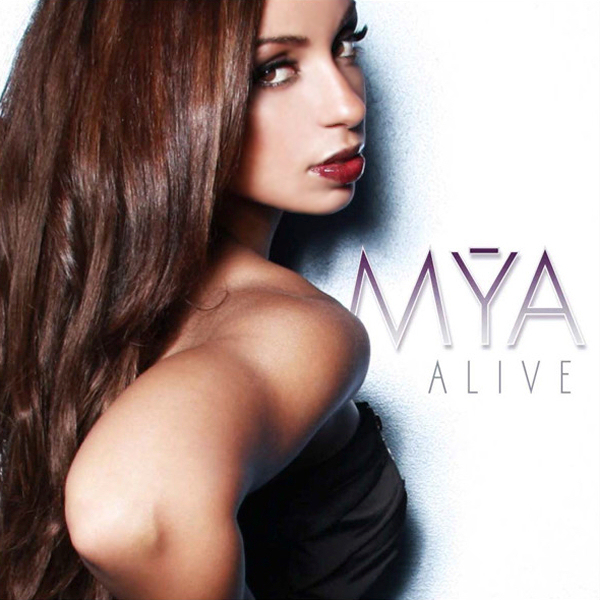 coverlandia the 1 place for album single cover 39 s mya alive official single cover. Black Bedroom Furniture Sets. Home Design Ideas