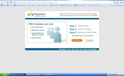 wayback machine myspace