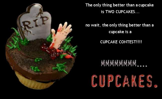 up a Cupcake Contest! and,