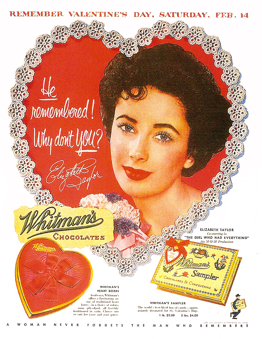 Valentine S Day Vintage Toys : Dying for chocolate vintage valentine s day