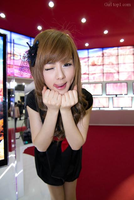 Hwang Mi hee WIS 30 Hwang Mi Hee – World IT Show 2010