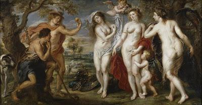 El juicio de Paris, Rubens