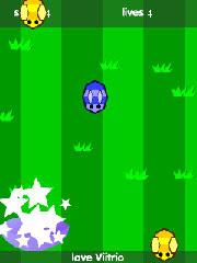 Bees Catcher - Nokia S60 Flash Lite Game
