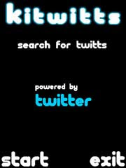 KiTwitts allows your to search for twitts on Twitter using keywords