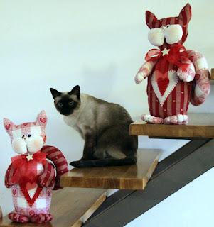 Tatamusetta i regali di natale fatti a mano for Cucito creativo gatti