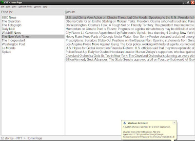 WebbIE RSS-Reader