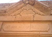 Καραμανλίδικα σε κτίριο, Καππαδοκία