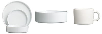 this modern white dinnerware from cb2 would have been in the top three easy iu0027ve been on the hunt for something just like this - Modern Dinnerware