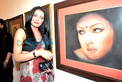 Celina Jaitly graces Egyptian Diplomat's Bollywood Exhibition image