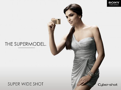Deepika is Elegant in Sony Cybershot Photoshoot image