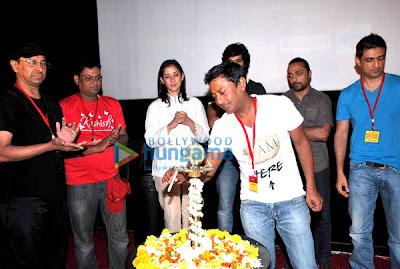 Manisha Koirala, Rahul Bose at the inaugural day of 'Kashish Film Festival' image